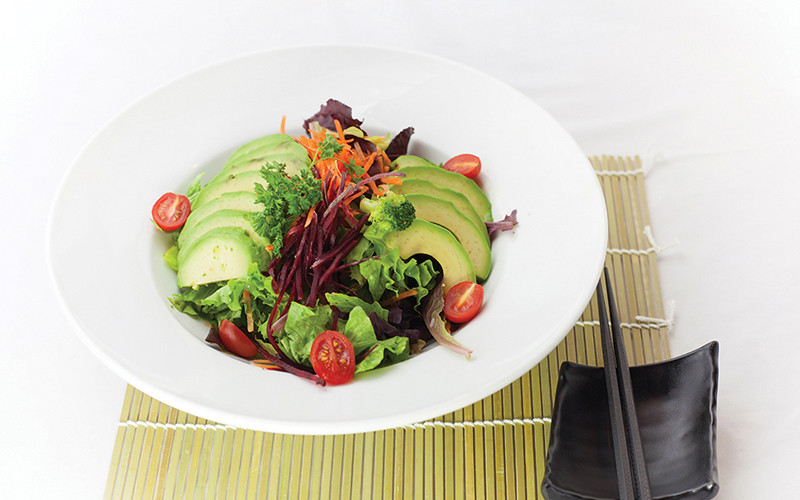 Avocado Salad half