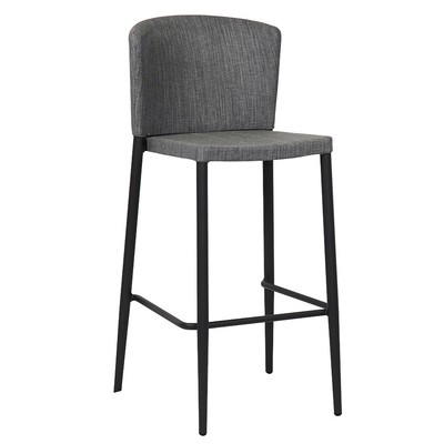 Alumimum Bar Stool Textilene with Back Seat