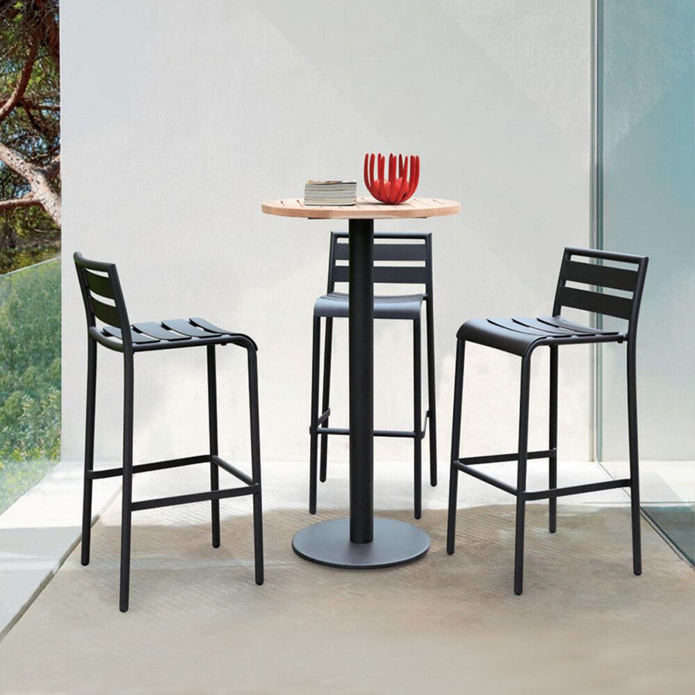 Commercial Outdoor Aluminum Bar Stools