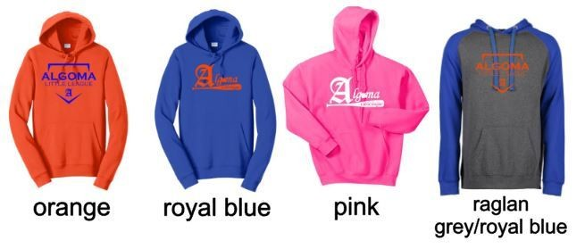 Cotton/Poly Blend Hooded Sweatshirts