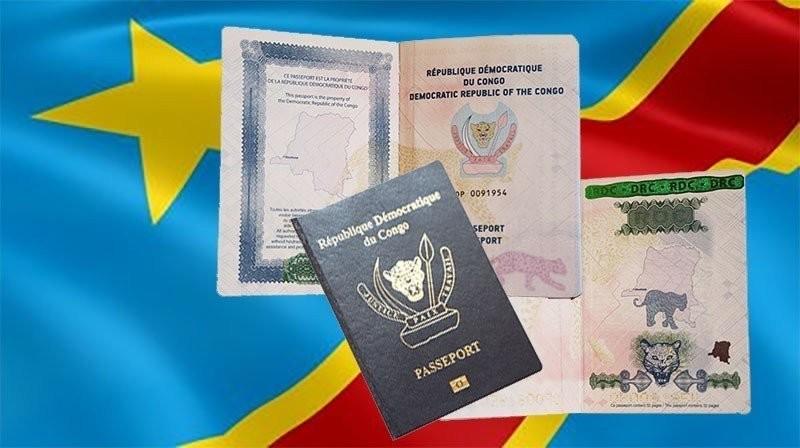 Passeport Biometrique Congo Kinshasa Rdc