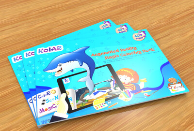 Avidia KolAR - 4D+ Augmented Reality Aqua Color Book