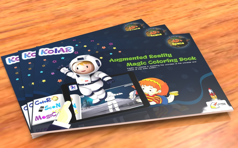 Avidia KolAR - 4D+ Augmented Reality Space Color Book