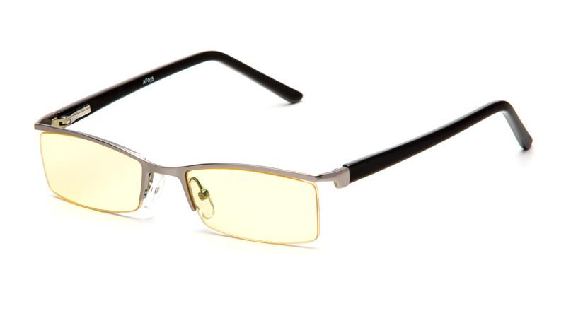 Очки для компьютера AF035 серебристо-черный