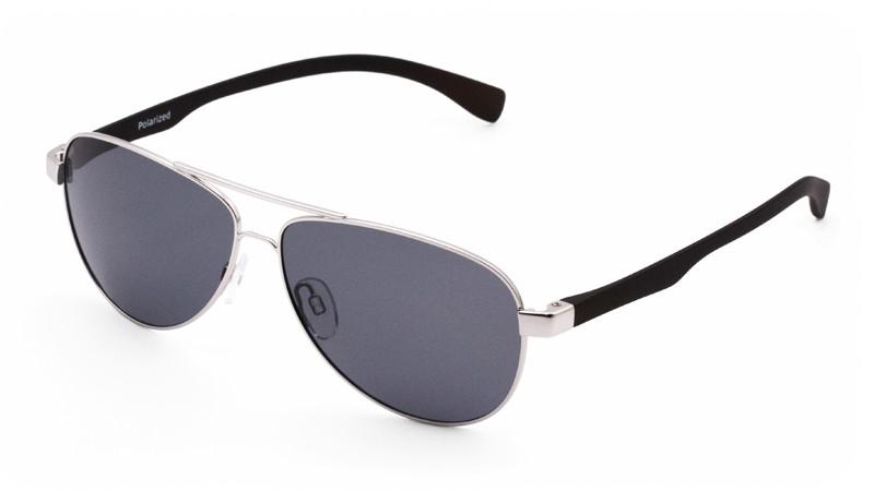 Солнцезащитные поляризационные очки POLARMASTER, PL01 L2 серебристо-черный