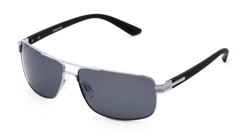 Солнцезащитные поляризационные очки POLARMASTER, PL02 L2 серо-черный