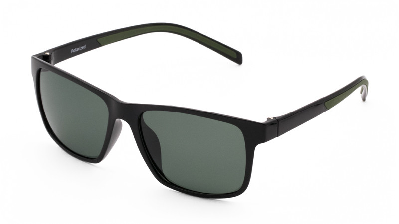 Солнцезащитные поляризационные очки POLARMASTER, PL04 L3 черный хаки
