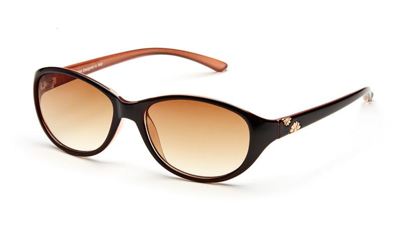 Солнцезащитные очки градиент AS044 черно-кремовый