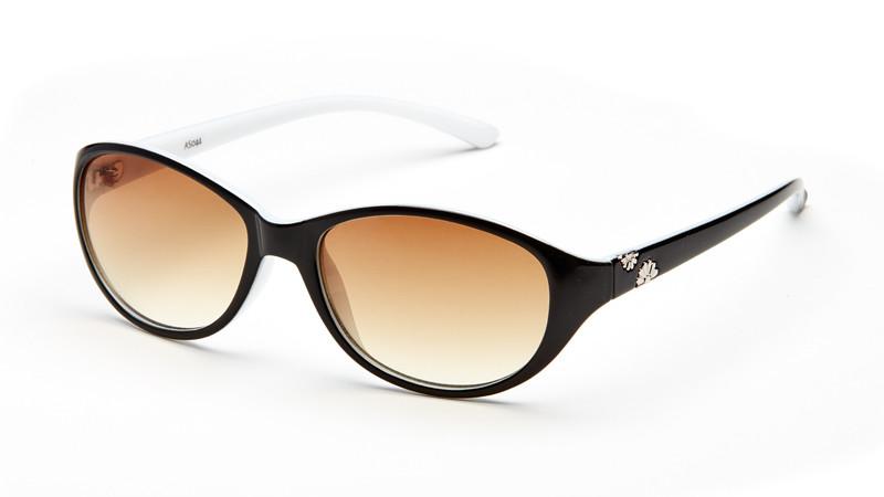 Солнцезащитные очки градиент AS044 черно-белый