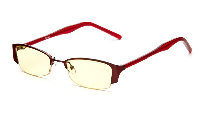 Очки для компьютера AF006 бордовый
