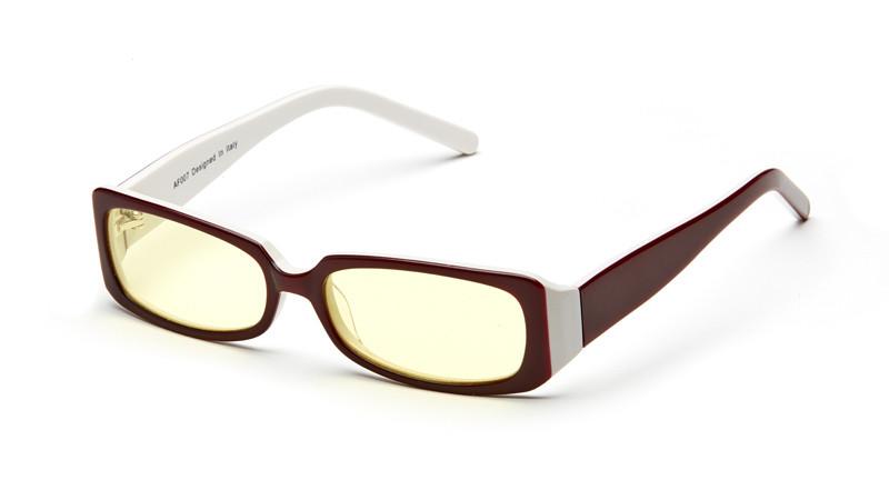 Очки для компьютера AF007 красно-белый