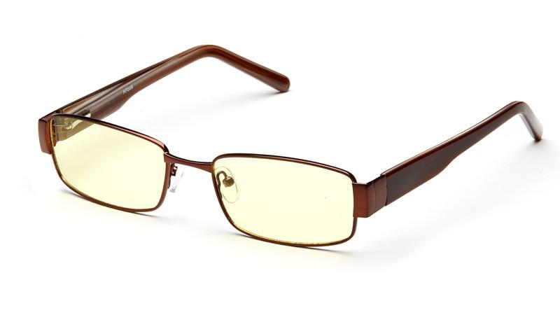 Очки для компьютера AF026 коричневый