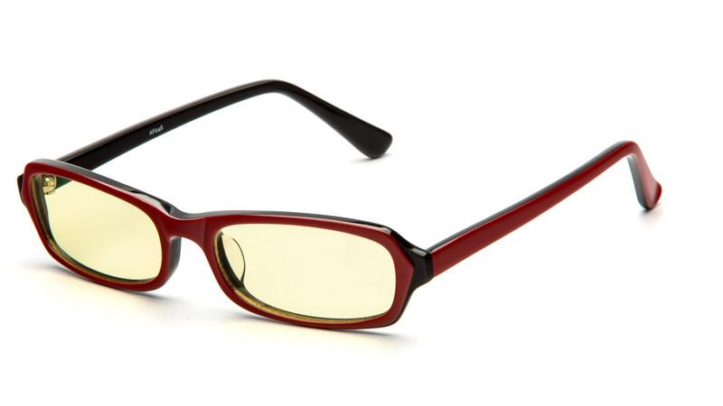 Очки для компьютера AF046 красно-черный