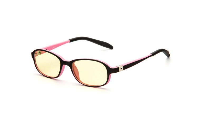 Очки для компьютера детские AF051 черно-розовый