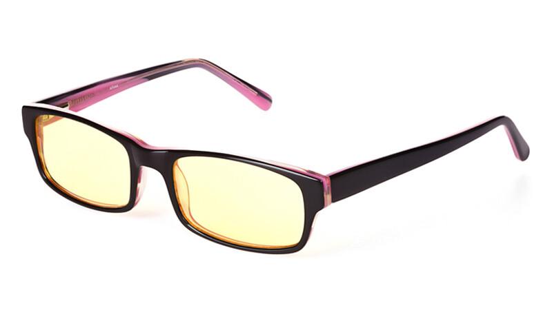 Очки для компьютера AF044 черно-розовый