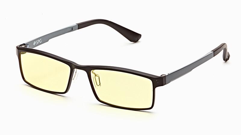 Очки для компьютера AF059 черно-серый