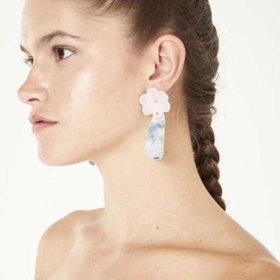 Night Flor Wavy Earrings
