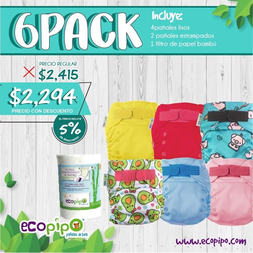 Ecopipo 6 Pack