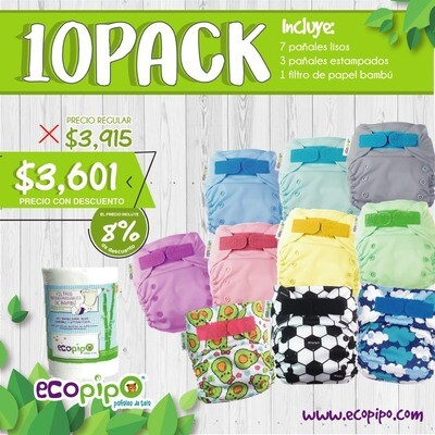 Ecopipo 10 Pack