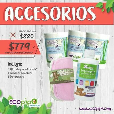 Ecopipo Accesorios Pack
