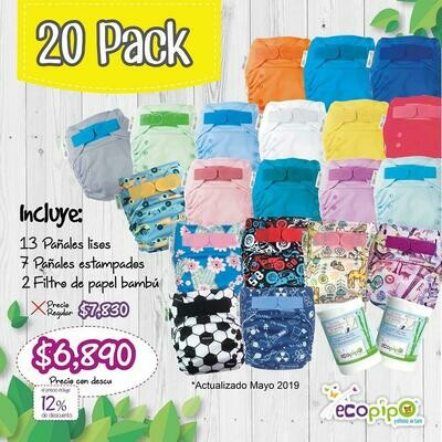 Ecopipo 20 Pack