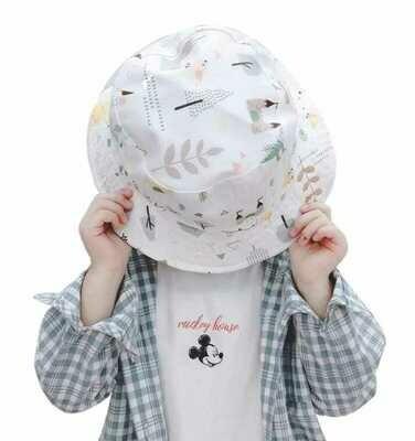 Sombrero Doble Vista con Careta Removible (Algodón)