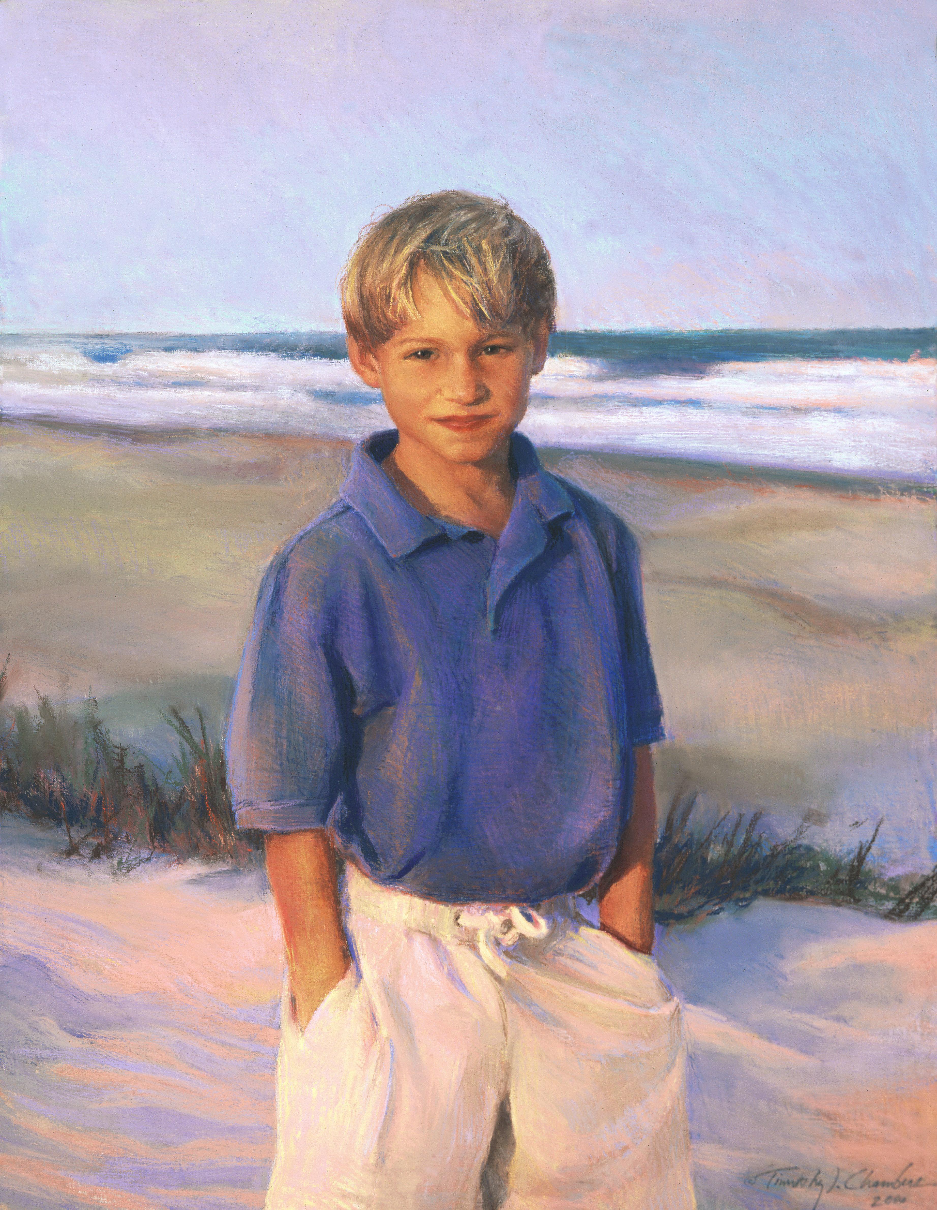 Children's Portrait, Three-quarter Figure
