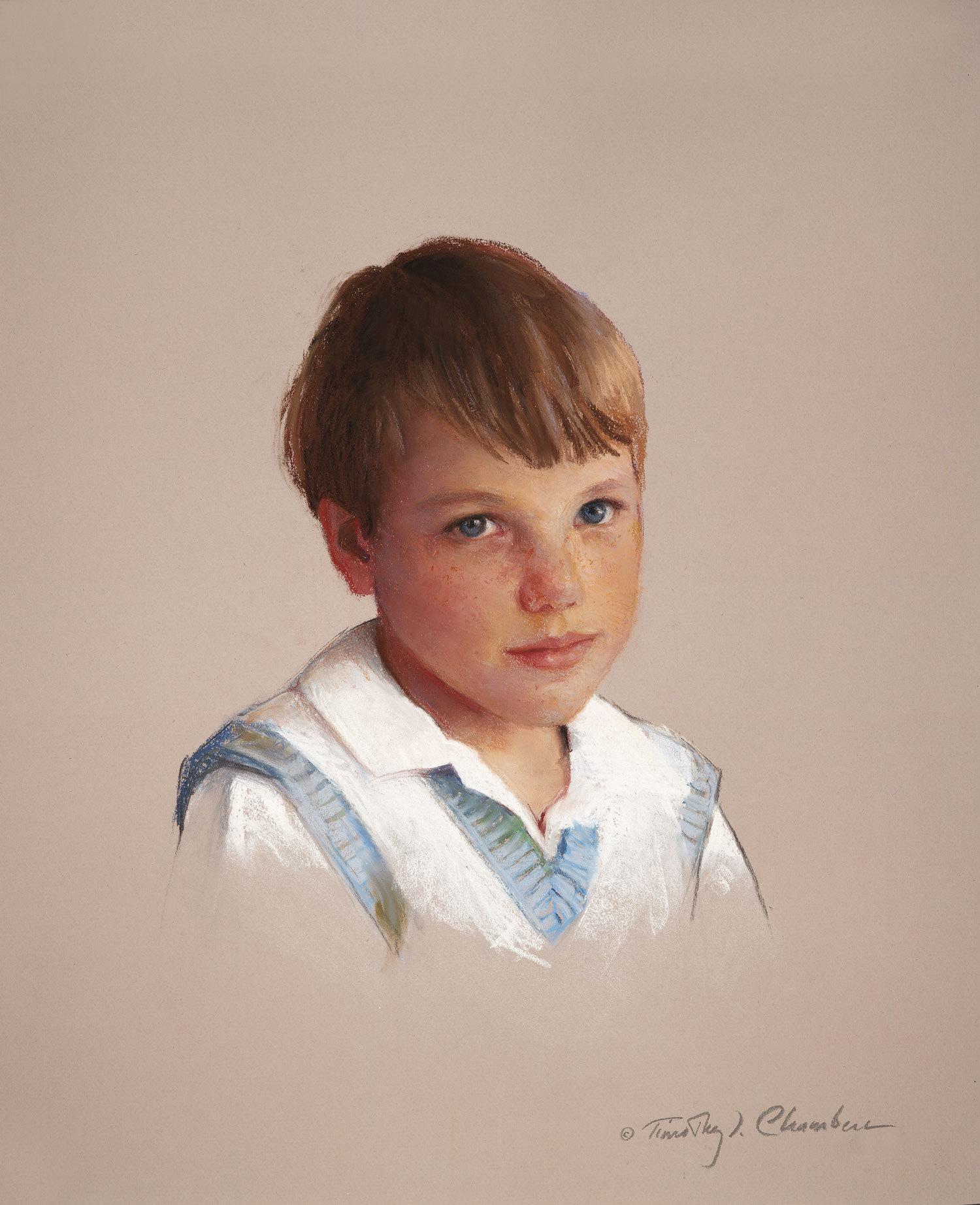 Children's Portrait, Head & Shoulders
