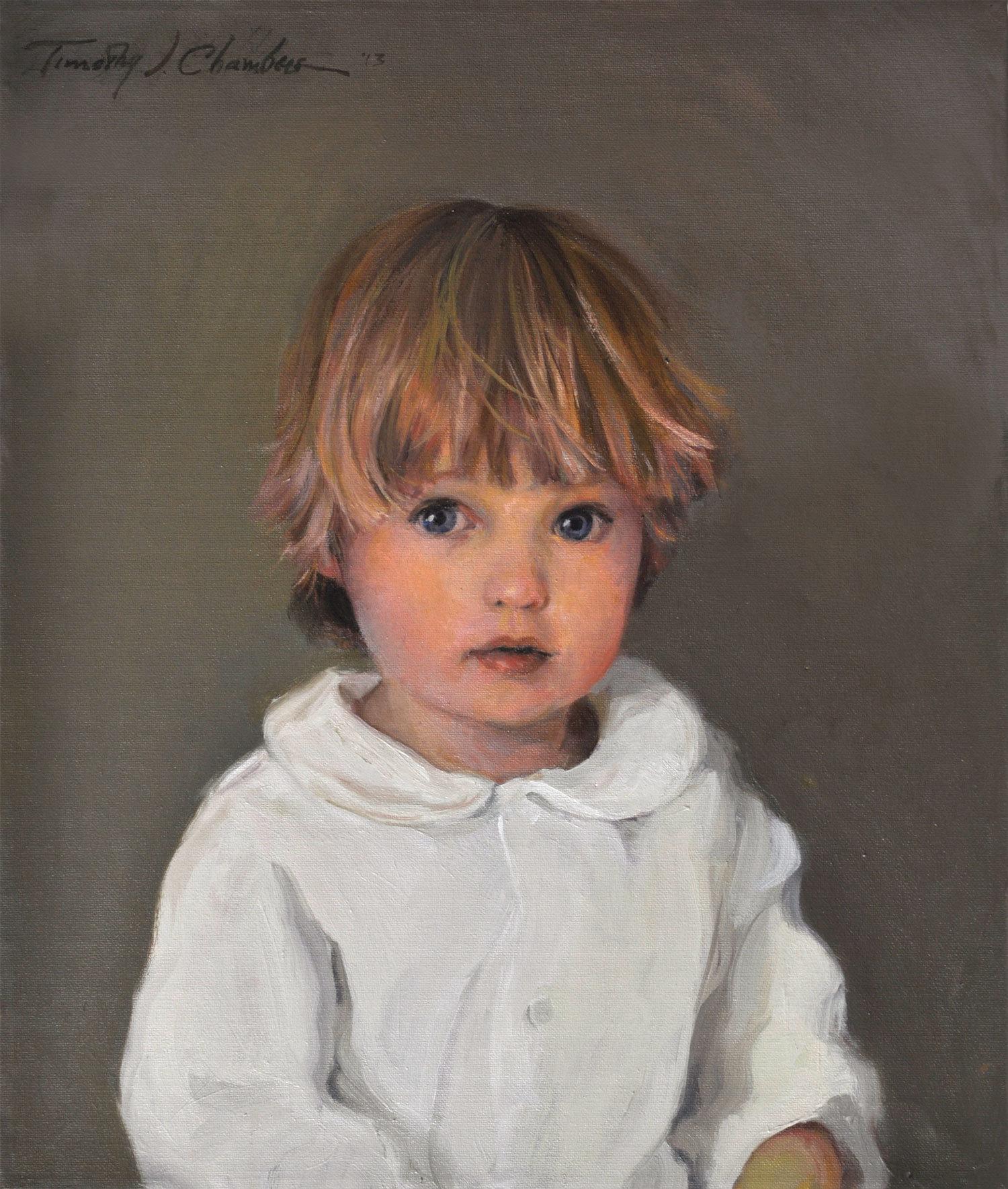 Children's Portrait, Head & Shoulders HS-Child