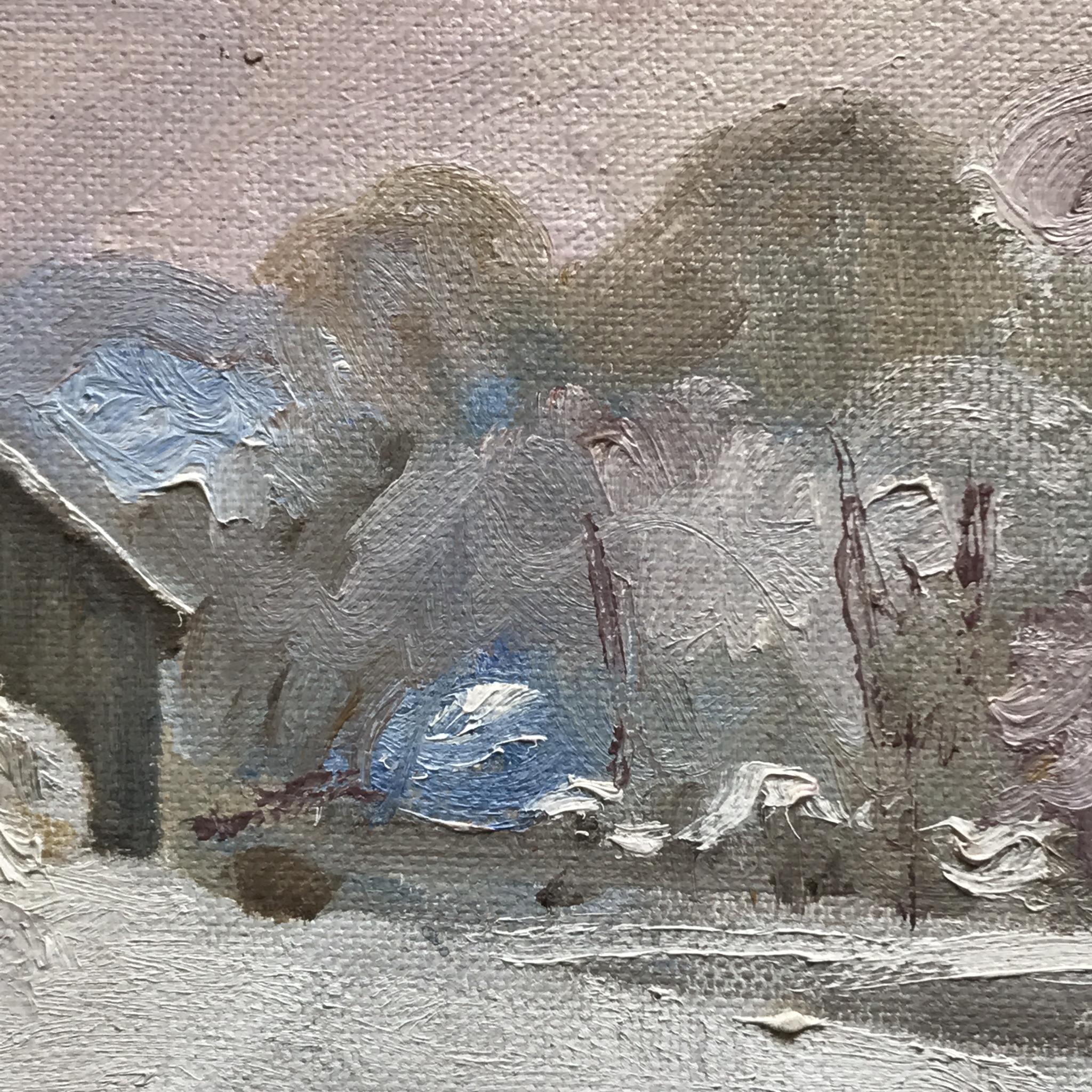 """Quiet Refuge, 11x14"""" Oil"""
