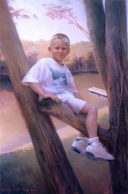 Posthumous Portrait- Child