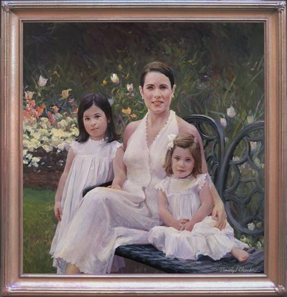Family Portrait- Parents & Children