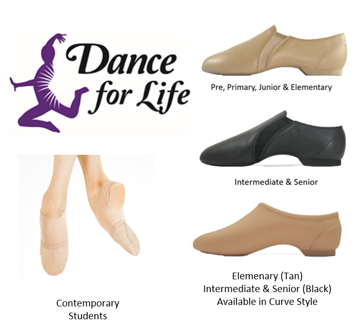 Jazz and Contemporary Shoes - Prices starting @ Jazz