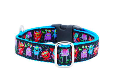 2 HOUNDS MONSTRO CITY COLLAR SMALL