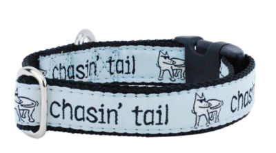 2 HOUNDS CDLG CHASIN TAIL  MARTINGALE COLLAR LARGE