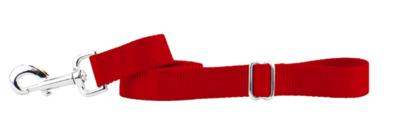 2 HOUNDS  KEYSTONE TRAFFIC HANDLE LEASH RED 6'