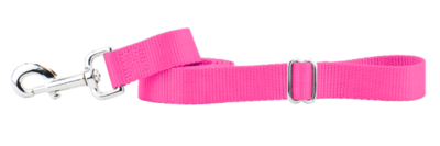 2 HOUNDS TRAFFIC LEASH HOT PINK 18