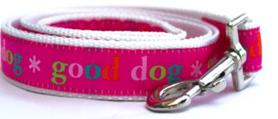 Diva Dog Good Dog Pink Dog Leash 4 Ft