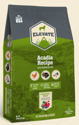 ELEVATE ACADIA DOG FOOD SUPER PREMIUM 6 LBS