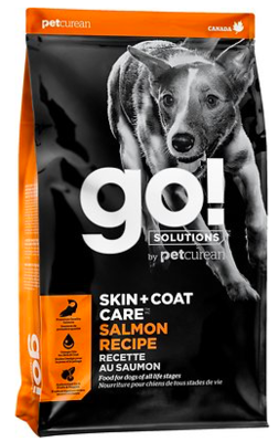 PETCUREAN GO!  SKIN AND COAT CARE DOGFOOD SALMON 3.5 LBS