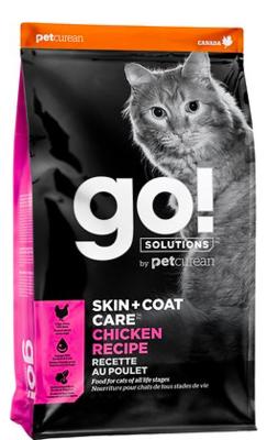 PETCUREAN GO! SKIN AND COAT CARE CAT FOOD CHICKEN 3 LBS