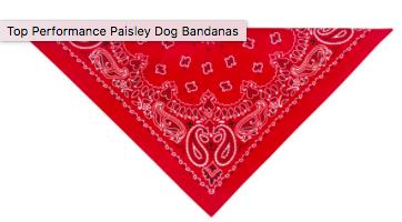 PET EDGE RED BANDANA