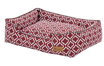 PLAY MOROCCAN LOUNGE BED Red Small