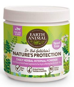 EARTH ANIMAL NATURES PROTECTION HERBAL SUPPLEMENT FOR DOGS AND CASTS