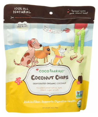 COCO THERAPY COCONUT CHIPS 6 OZ