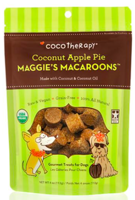 COCO THERAPY MAGGIE'S MACAROONS COCONUT APPLE PIE 4 OZ