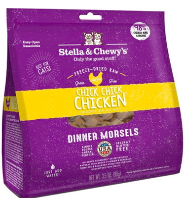 STELLA AND CHEWY CHICKEN FZDRD CAT FOOD 3.5 OZ