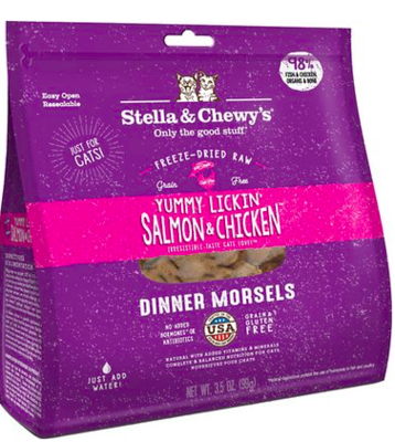 STELLA AND CHEWY SALMON/CHICKEN FZDR CATFOOD 3.5 OZ