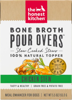 THE HONEST KITCHEN POUR OVER CHICKEN BONE BROTH 12/5.5 OZ CASE