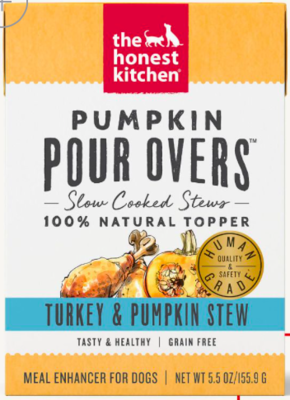 THE HONEST KITCHEN POUR OVER TURKEY/PUMPKIN 12/5 OZ CASE